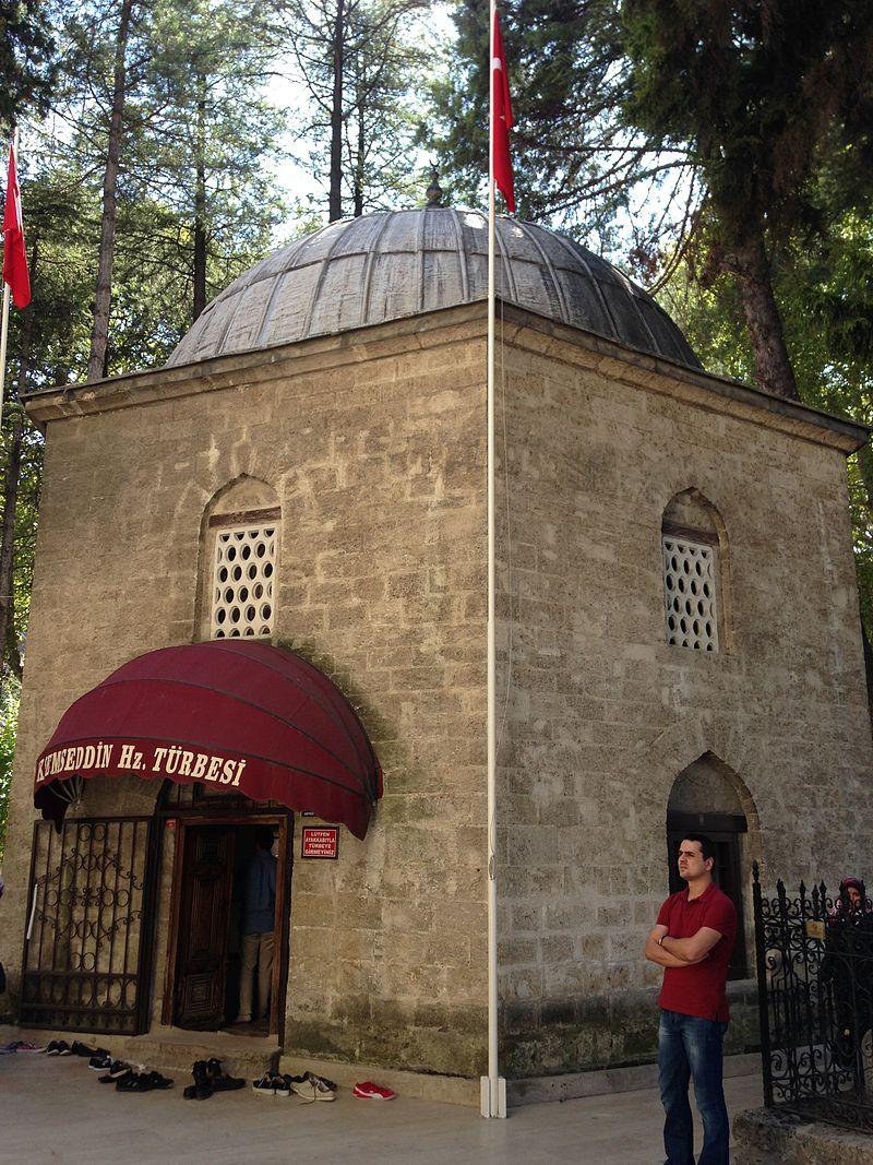 قبة قبر آق شمس الدين