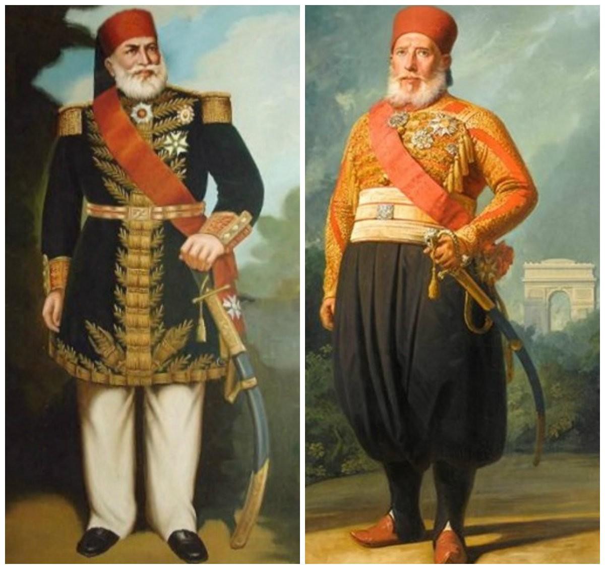 إبراهيم باشا - محمد علي