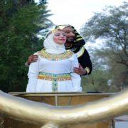 حفل زفاف على الطريقة الفرعونية