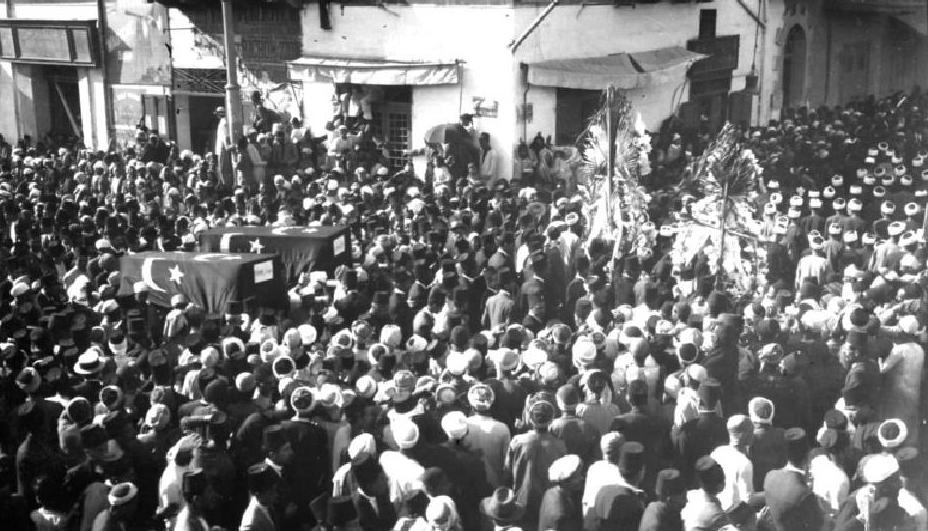 جنازة شهداء ثورة 1919