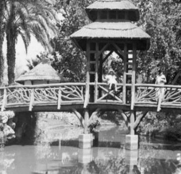 كوبري إيفل في حديقة الحيوان.. .... الذي سبق بناءه برج إيفل في باريس