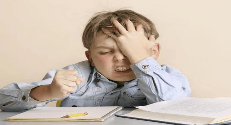 العصبية عند الأطفال