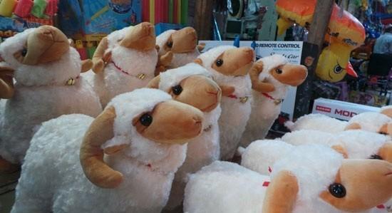 خروف على شكل دبدوب