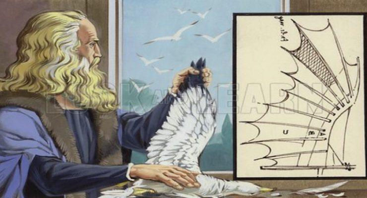 ليوناردو دا فنشي لوحة لأنغوس مكبرايد