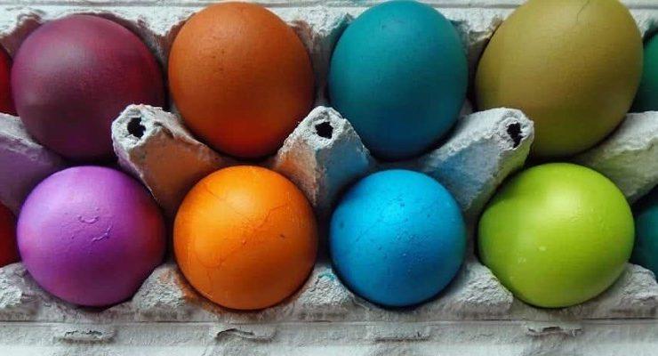 البيض ألوان كتير .................................البيض ألوان كتير .........