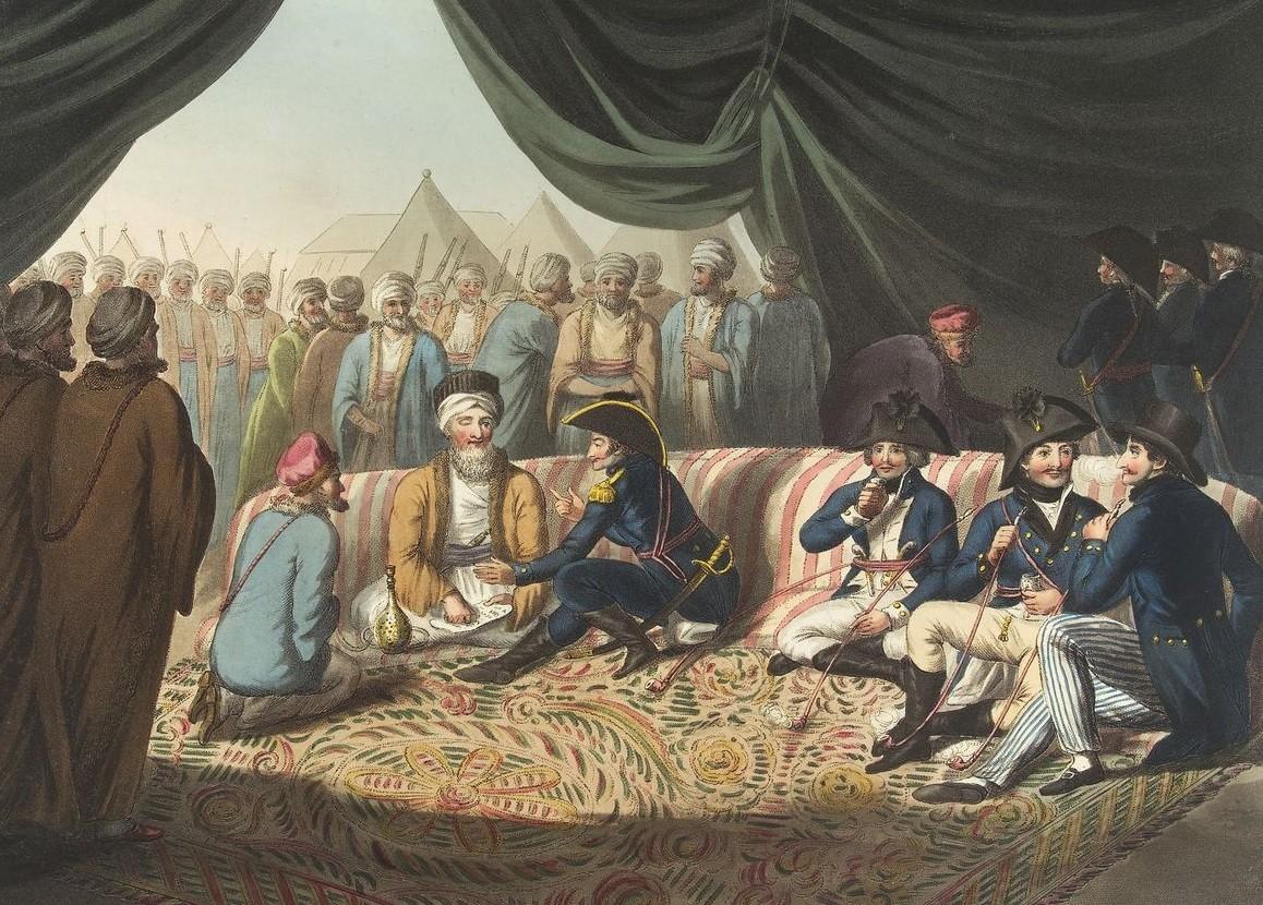 توقيع معاهدة العريش