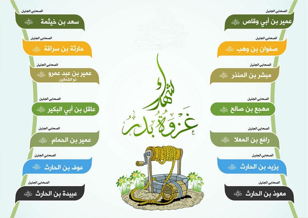 شهداء غزوة بدر
