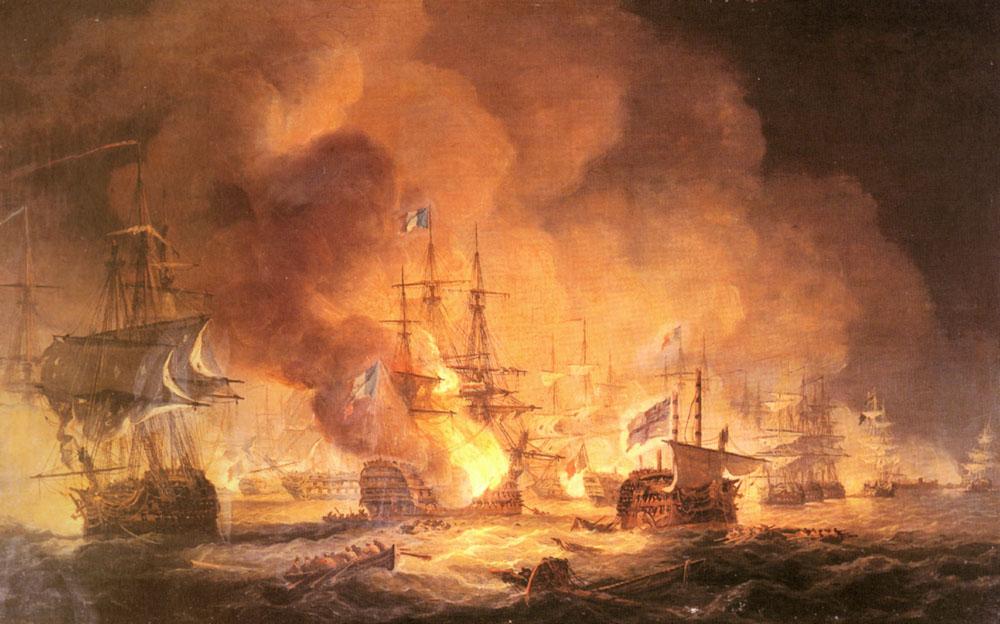 معركة أبي قير البحرية