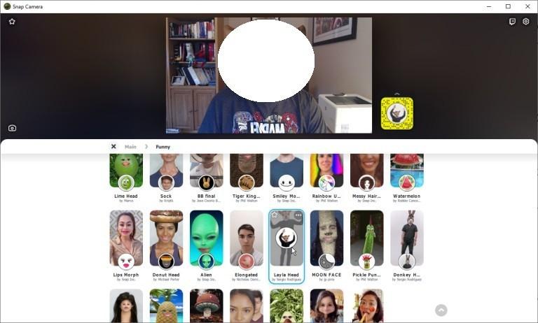 كيفية استخدام فلاتر سناب شات مع تطبيق Zoom وتطبيقات محادثات الفيديو المختلفة