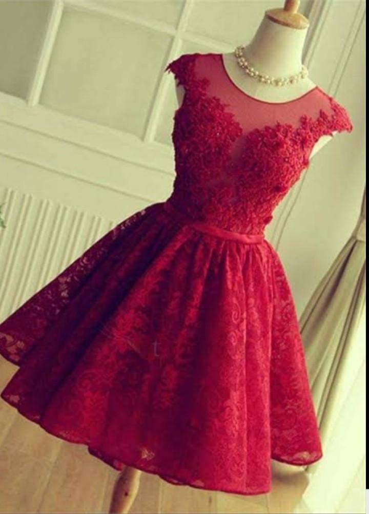 فستان راقي منفوش