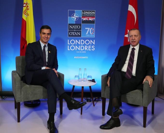 أردوغان ورئيس وزراء إسبانيا