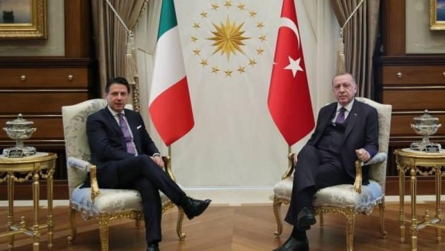 أردوغان ورئيس وزراء إيطاليا