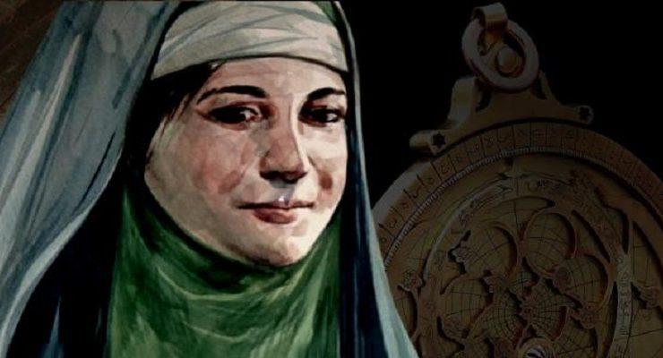 عالمة الفلك مريم الإسطرلابي