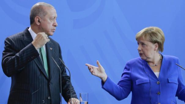 ميركل وأردوغان