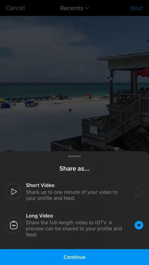 نشر الفيديو على IGTV ... كيفية مشاركة مقاطع الفيديو الطويلة على انستجرام