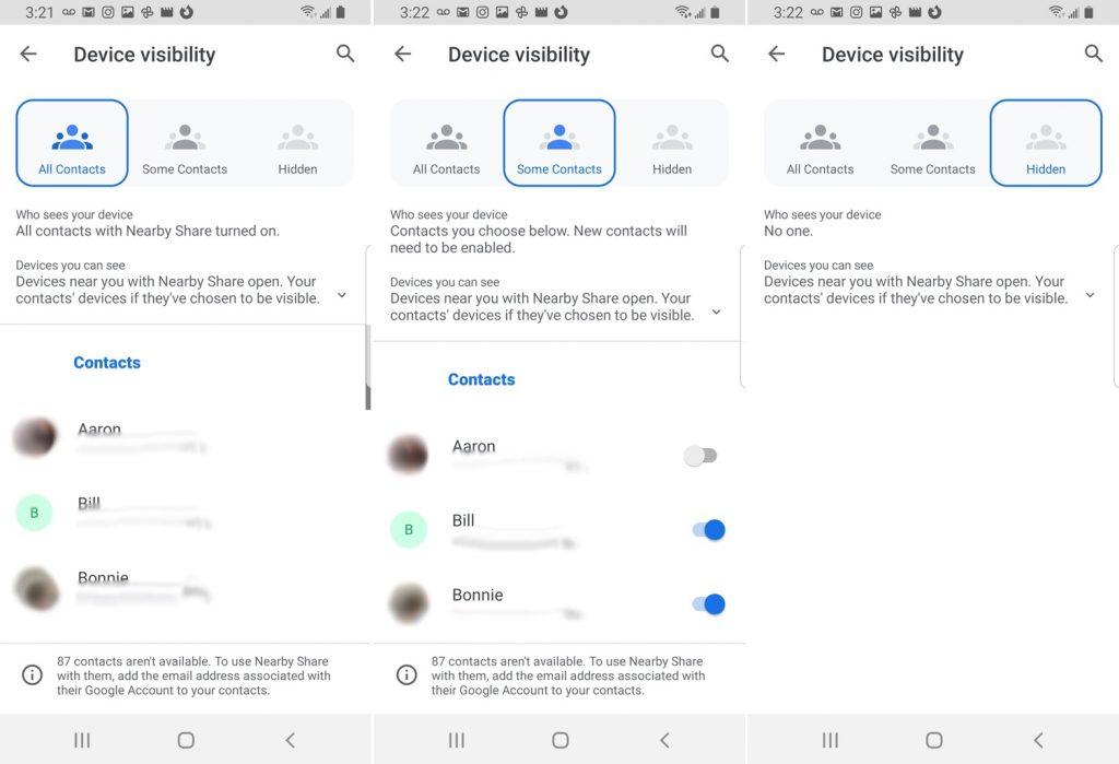 تعرف على كيفية استخدام خاصية Nearby Share لمشاركة الملفات بين هواتف اندرويد