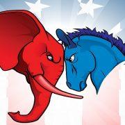 الحزب الديمقراطي والحزب الجمهوري في الانتخابات الأمريكية
