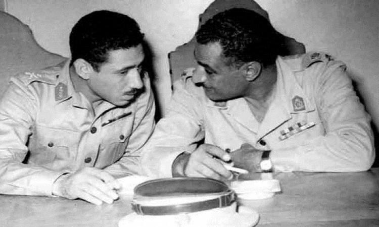 جمال عبدالناصر وعبدالحكيم عامر