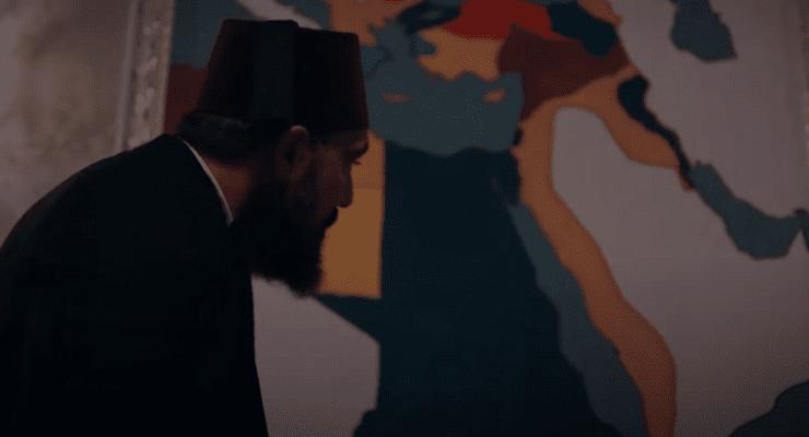 خريطة مصر في مسلسل عبدالحميد الثاني