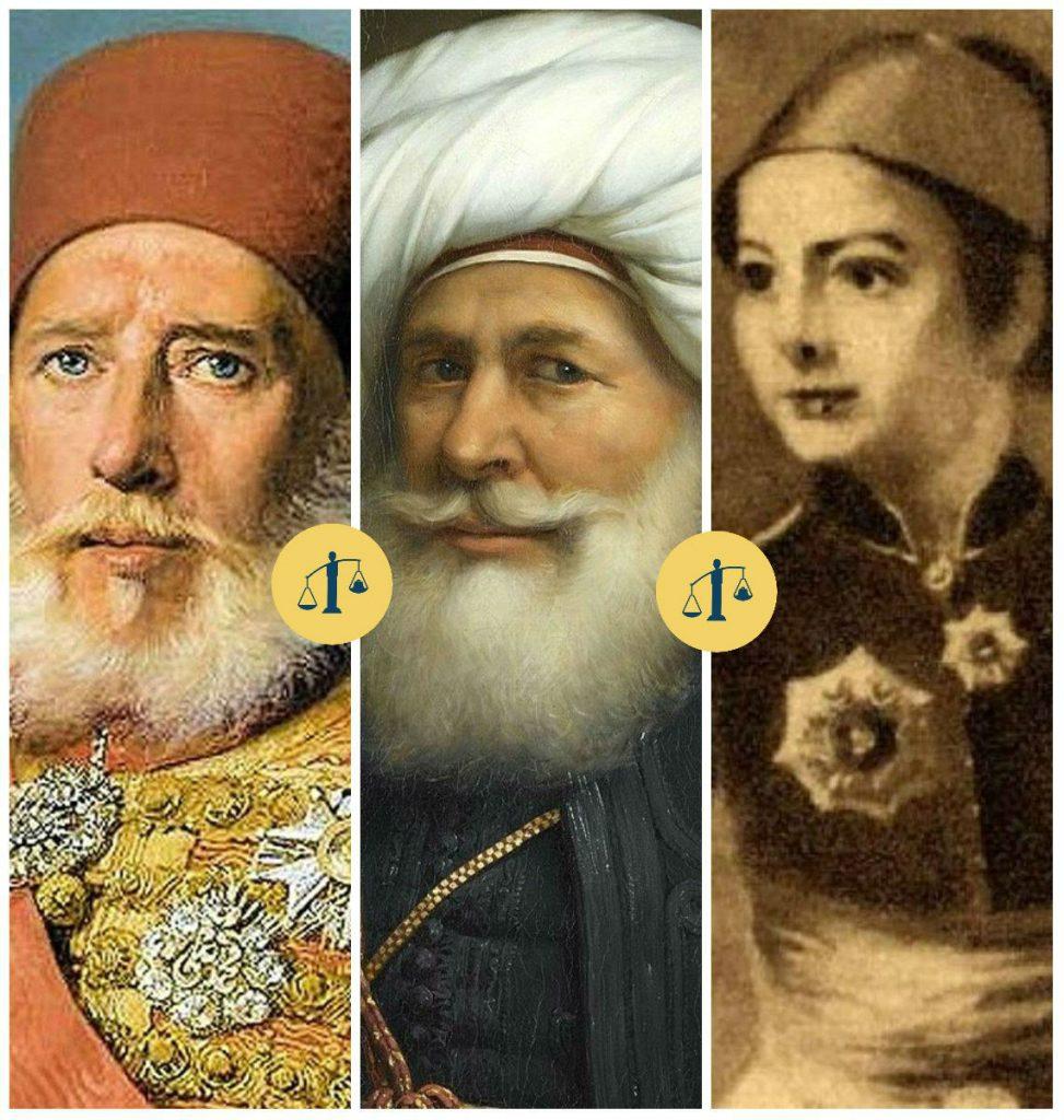 طوسون - محمد علي باشا - إبراهيم
