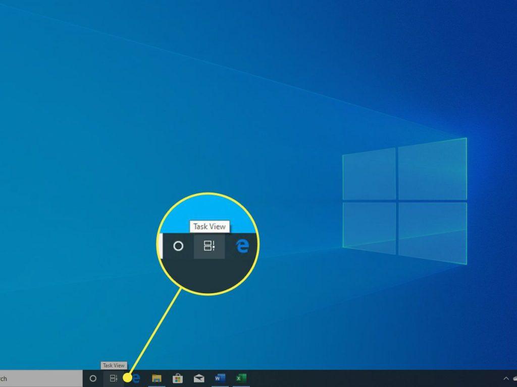 كيفية استخدام خاصية سطح المكتب الافتراضي في ويندوز 10