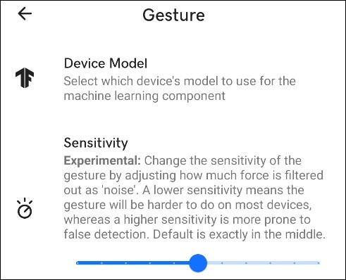كيفية التحكم في الهاتف بالنقر على ظهره من خلال استخدام تطبيق Tap Tap