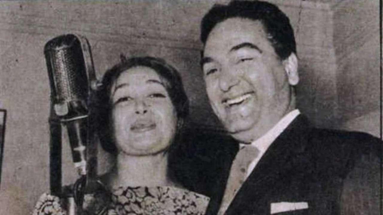 محمد فوزي وهدى سلطان