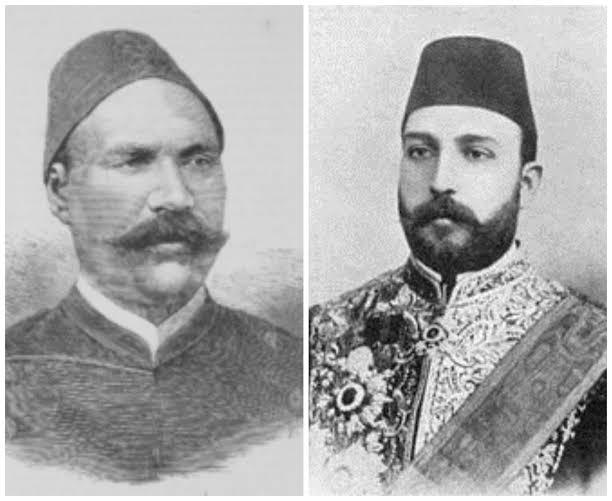 الخديوي توفيق وأحمد عرابي