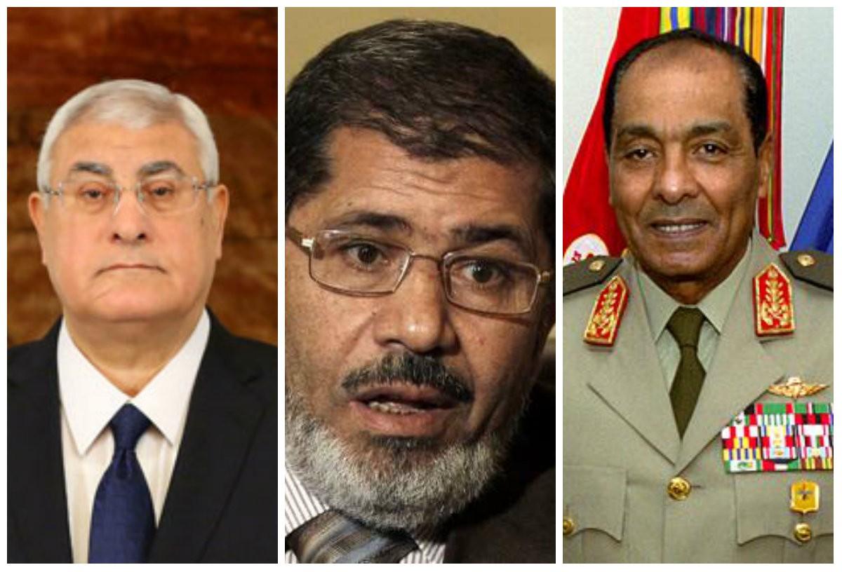 حكام مصر ما بعد رحيل مبارك وقبل السيسي