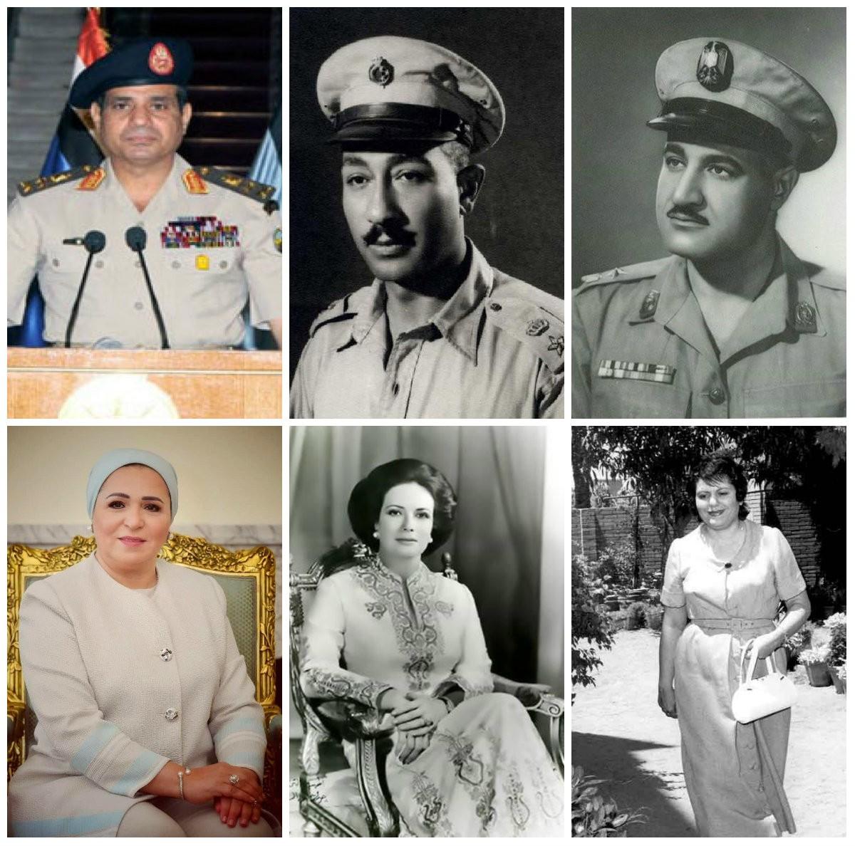رؤساء مصر وقت الثورة