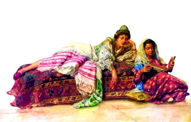 المرأة ورسومات المستشرقين
