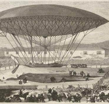 تاريخ البالون الطائر