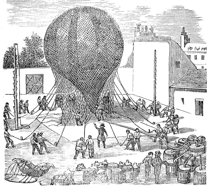 تاريخ المنطاد