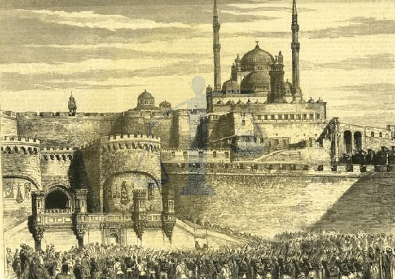 قوات الاحتلال الإنجليزي تدخل القلعة