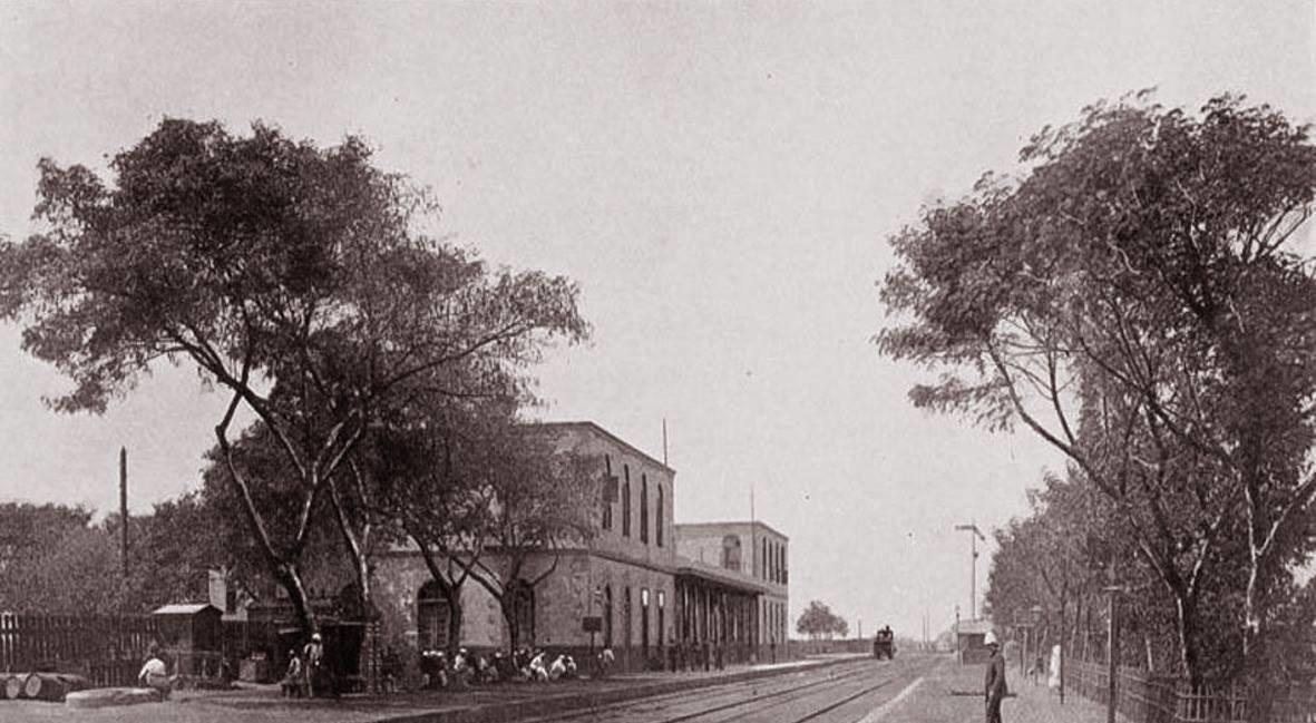 محطة قطارات في الشرقية