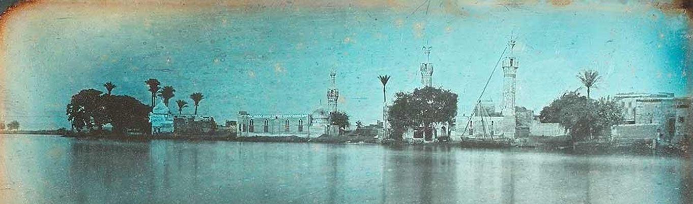 منظر عام لمدينة كفر الشيخ