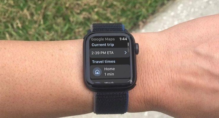 تعرف على كيفية استخدام خرائط جوجل على ساعة ابل الذكية
