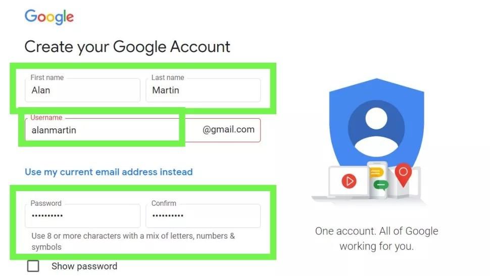 كيفية انشاء حساب جيميل جديد والاستفادة من خدمات بريد جوجل الإلكتروني