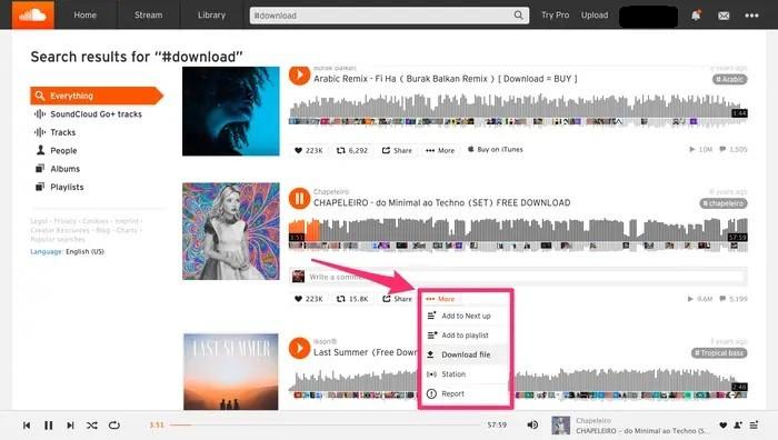 كيفية تحميل الأغاني من ساوند كلاود عبر الموقع أو التطبيق المخصص للهواتف الذكية