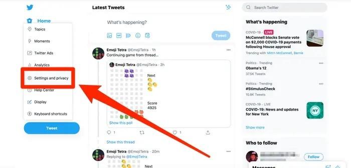 كيفية تغيير اسم المستخدم في تويتر من خلال الموقع أو تطبيق الهواتف الذكية