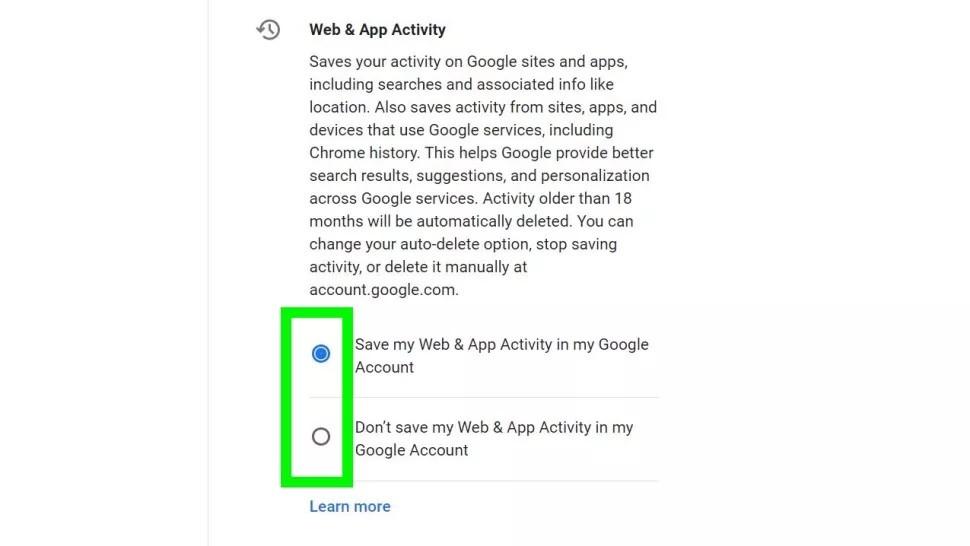 Google Options