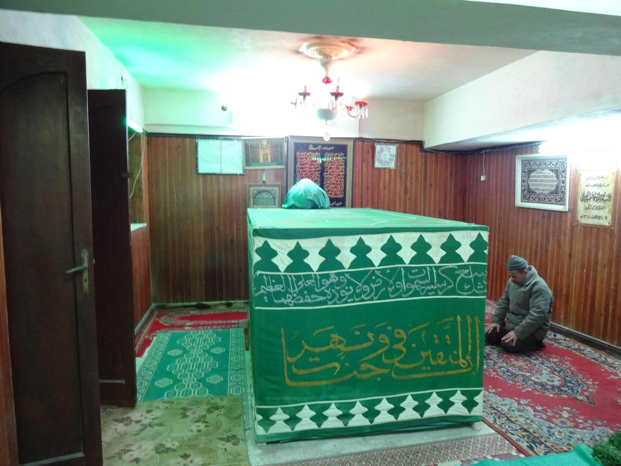 قبر حسن البنا