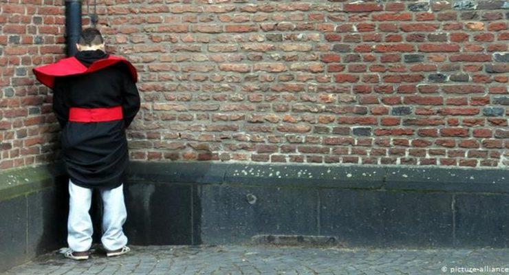 التبول بالشوارع