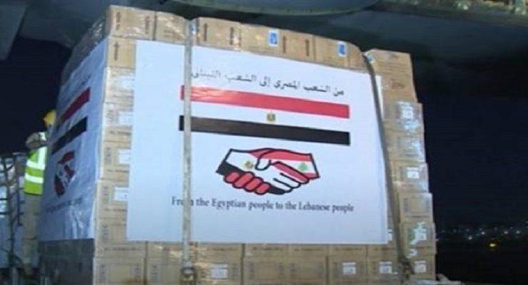 مساعدات مصر للبنان