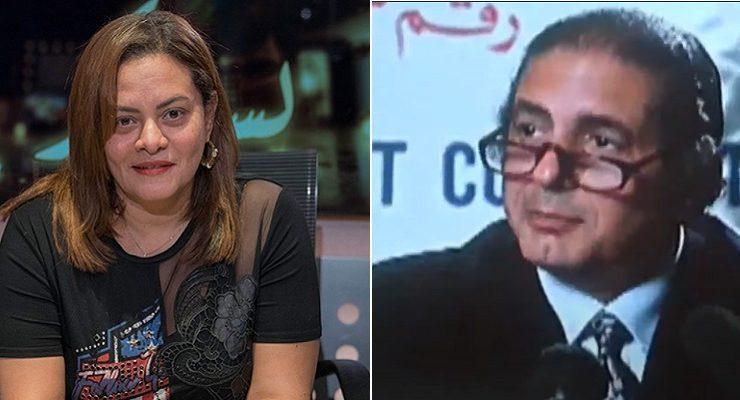 كاملة أبو ذكري وهشام مدكور