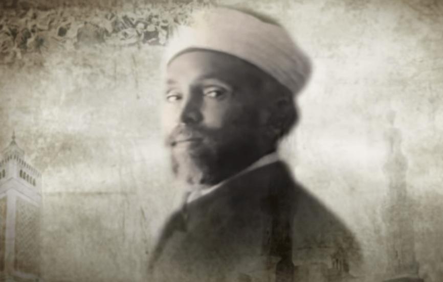 محمد الخضر حسين في شبابه