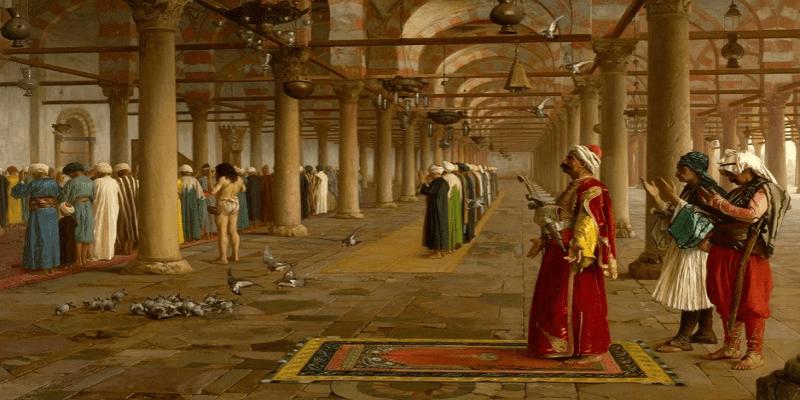 مسجد عمرو بن العاص زمن الدولة الإخشيدية