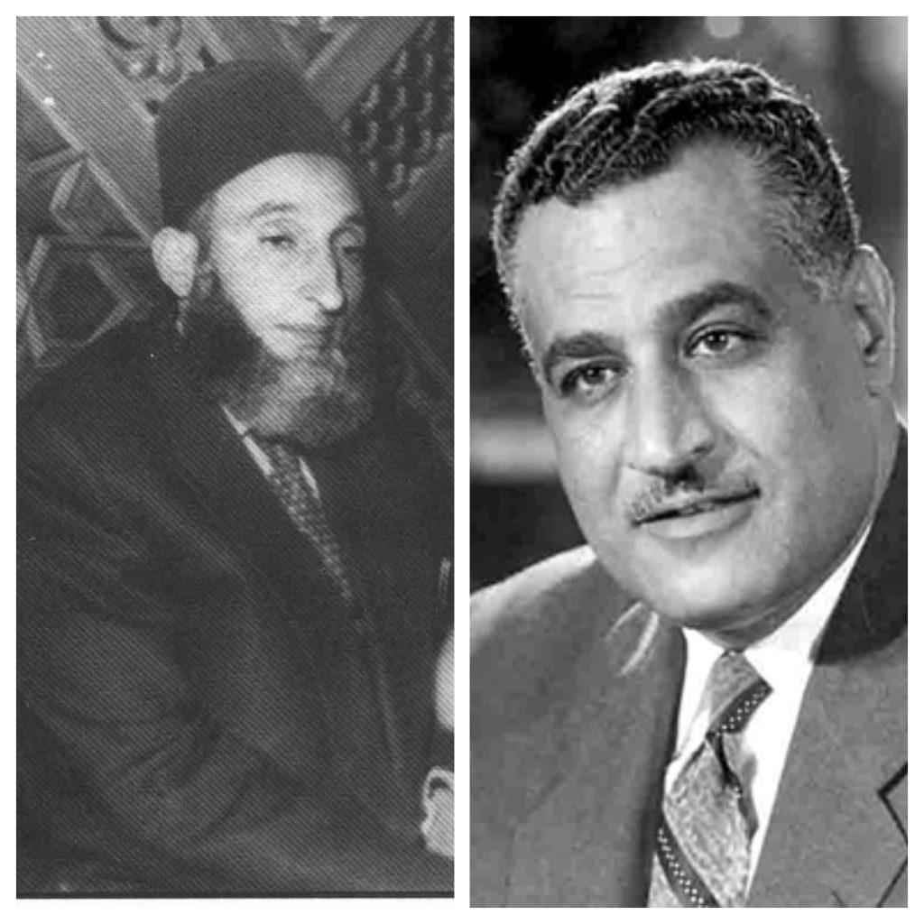 جمال عبدالناصر - حافظ سلامة