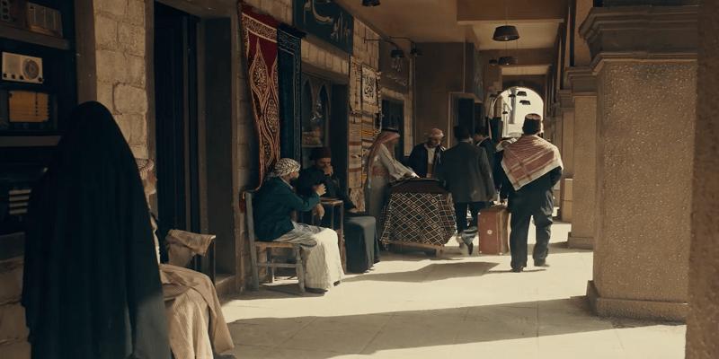 غزة في مسلسل موسى
