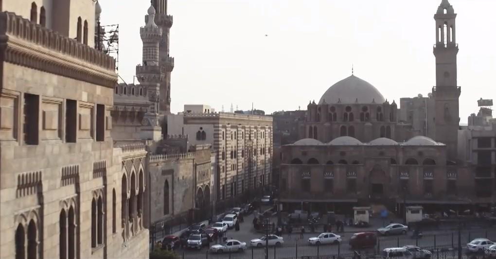 مسجد أبو الدهب - مسجد الأزهر - مبنى المشيخة القديم